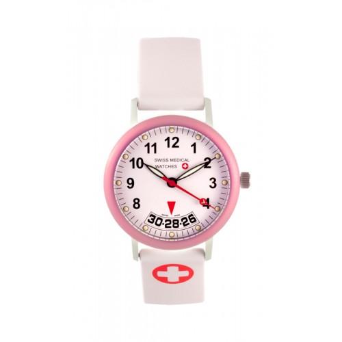 Swiss Medical Armbanduhr Damen Rosa