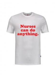 T-Shirt Nurses Can Do Anything Weiß