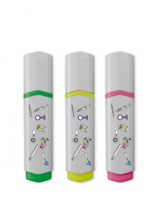 Neon Textmarker 3 Stück Medizinische Symbole