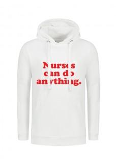 Hoodie Nurses Can Do Anything Weiß