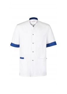 Haen Kasack Floris White/Royal Bleu