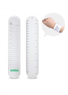 Notiz-Schnapp-Armband Wiederverwendbar