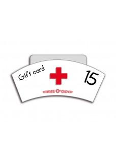 Geschenkgutschein 15 Euro Nurse O'Clock