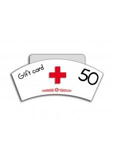 Geschenkgutschein 50 Euro Nurse O'Clock