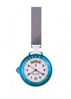 Swiss Medical Uhr Care Line Hellblau