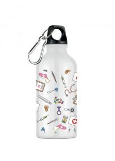 Trinkflasche Medizinische Symbole