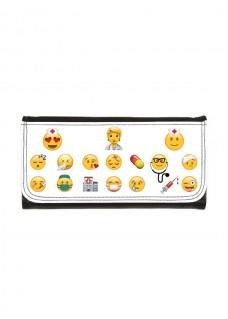 Brieftasche Emoji mit Namensaufdruck