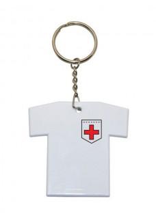 Schlüsselanhänger T-Shirt Kreuz