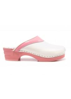 OUTLET Schuhgröße 38 Moofs Rosa und Weiß