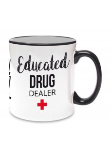 Tasse Best Educated Schwarz
