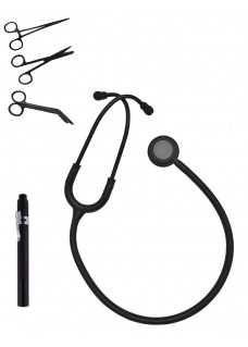 Hospitrix Instrumente Kit Stealth Black Gratis Gravur