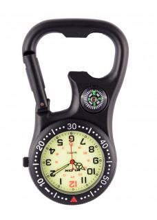 Karabiner Uhr NOC463 Stealth Black