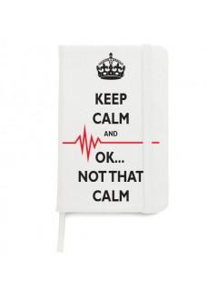 Notizbuch A5 Not That Calm