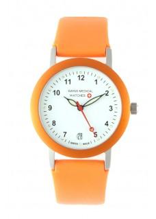 Swiss Medical Armbanduhr Orange