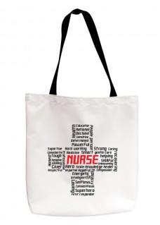 Einkaufstasche Nurse Cross