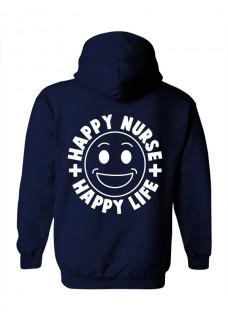 Gildan Hoodie Happy Nurse Life