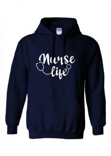 Gildan Hoodie Nurse Life