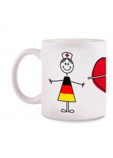 Tasse Stick Nurse Deutschland