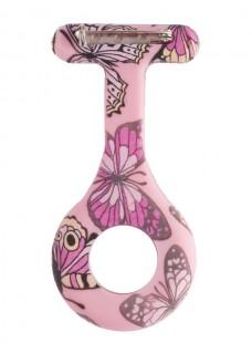 Silikongehäuse Schmetterling Rosa