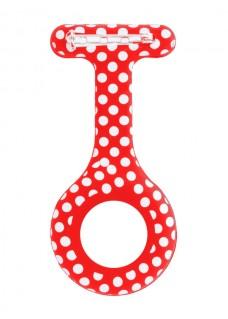 Silikongehäuse Polka Dots Rot