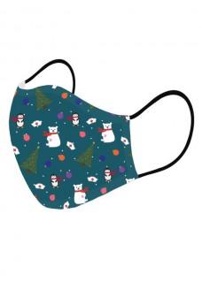 Alltagmaske Weihnachtssymbole