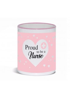 Tasse Proud to be a Nurse 3 Rosa