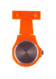 Neon Schwesternuhr Orange