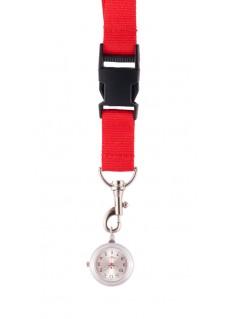 Schlüsselband Uhr Rot