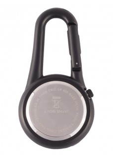 Karabiner Uhr NOC450 Schwarz