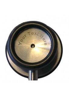 Stethoskop Basic Doppelseitig Schwarz