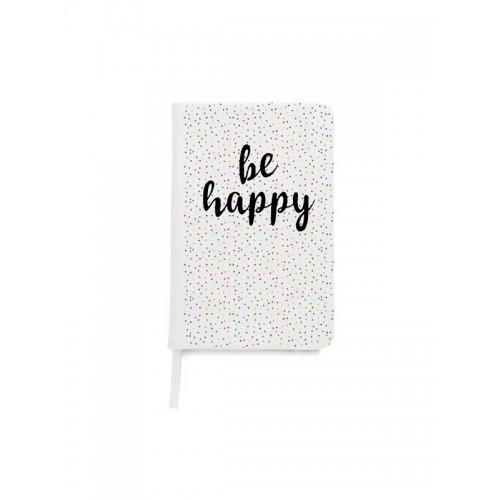Notizbuch A5 Be Happy