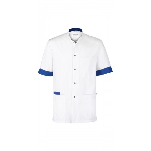 Haen Kasack Floris White/Royal Bleu