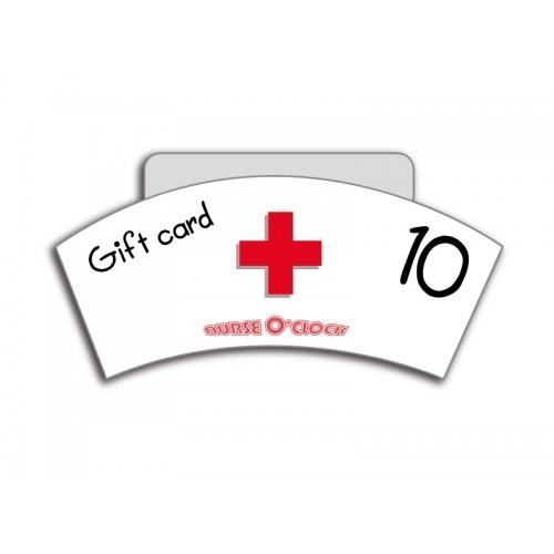 Geschenkgutschein 10 Euro Nurse O'Clock