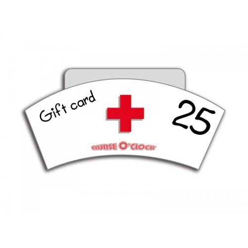 Geschenkgutschein 25 Euro Nurse O'Clock