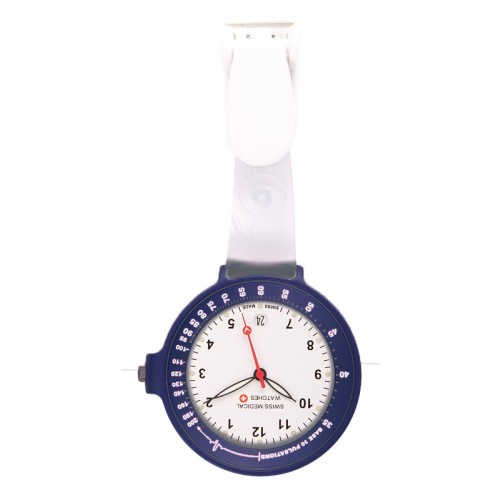 Swiss Medical Uhr Care Line Dunkelblau