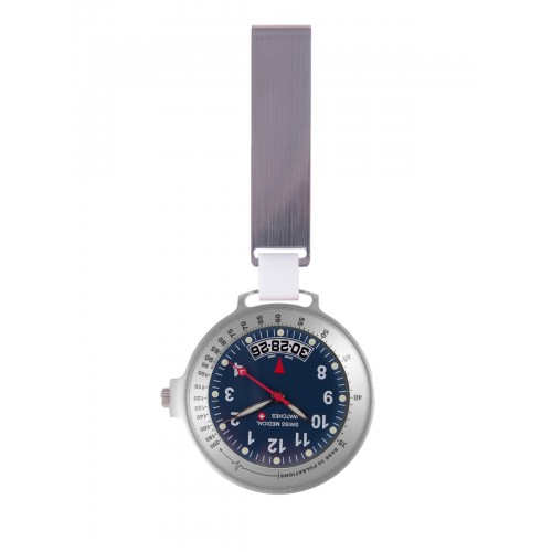 Swiss Medical Uhr Care Line Silber Blau - Limited Edition