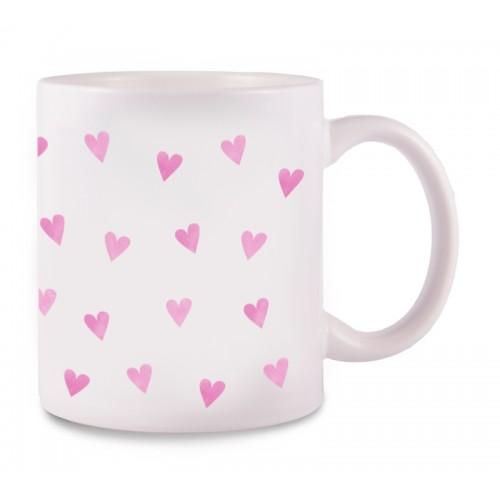 Tasse Rosa Herzen