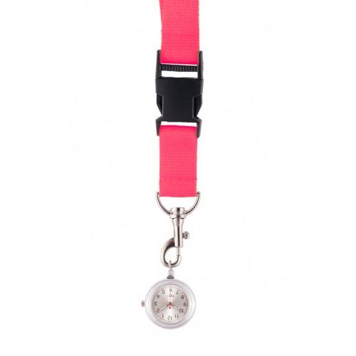 Schlüsselband Uhr Rosa