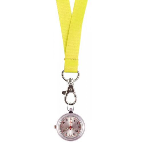 Schlüsselband Uhr Gelb
