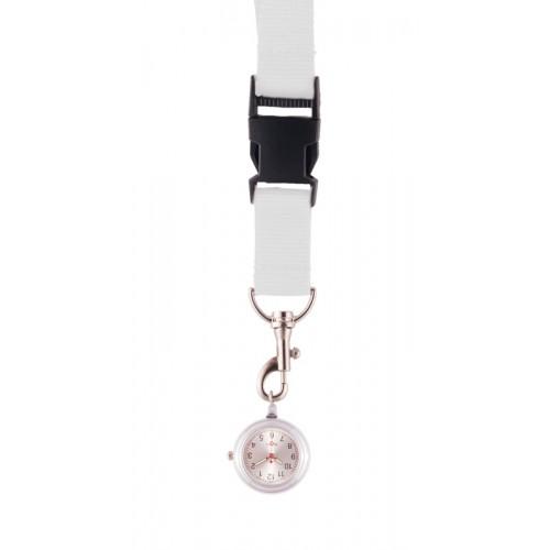 Schlüsselband Uhr Weiß